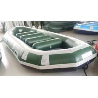 Quality Lightweight 440cm 6 Person Inflatable River Boats With Airmat Floor for sale