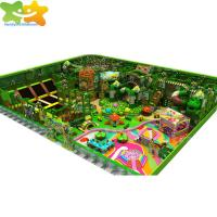 China Attractive Children Indoor Games Jungle Theme Equipment Kids Playground on sale