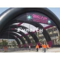 Giant 40x20m Inflatable Paintball Bunker Tent with Customized Design and LOGO Manufactures