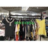 Quality Various Types Used Womens Clothing Holitex Second Hand Ladies Cotton Blouse for sale