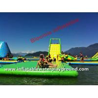 Adults Lake Inflatable Floating Water Park, Aqua Fun Games With CE Certificate Manufactures