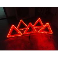 China LED warning triangle Emark / LED triangle warning sign manufacture offer on sale