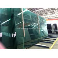 Fire Proof Safety Laminated Glass Curtain Wall / Stairs Safety Glass Panels Manufactures