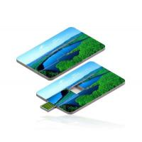 Custom Printed Credit Card USB Drive High Speed With Full Color Manufactures