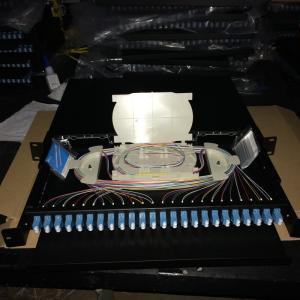 "19"" 1U Optical Distribution Frame/Fiber patch panel Manufactures"