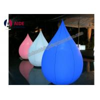 OEM Customized Nylon Inflatable Event Decoration Circle Cone With Blower Manufactures