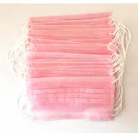 Quality Personal Pink Disposable Hair bonnets For Tattoo Accessories , Semi Permanent Makeup for sale