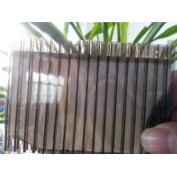 Quality Color Bronze 6mm / 8mm Double Wall Polycarbonate Greenhouse Panels Multi Purpose for sale