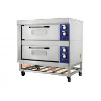 Stainless Steel Electric Baking Ovens With Movable Rack / Independent Chambers and Adjustable Temperature Manufactures