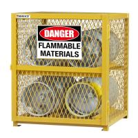 Explosion Proof Chemical Storage Cabinets With Adjustable Shelf For Gas Cylinders cage Manufactures