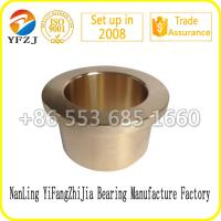 Quality Oilless bearing gold supplier plain bearing ,bronze bushing,flange  bearings for sale