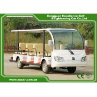 EXCAR white 14 Seater 72V electric sightseeing bus electric car china tour bus for sale Manufactures