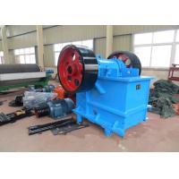 100 TPH Rock Jaw Crusher / Rock Crushing Machine PE 500 × 750 mm Feed Opening Manufactures