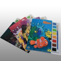 Hardbound English Childrens Book Printing Services A4 / A5 With Aqueous Coating Manufactures