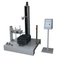 Electric Luggage Testing Equipment , Electromagnetic Control Drop Hammer Impact Tester Manufactures