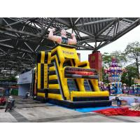 Quality 2017 New sports game multiplay inflatable games jump climb dart and climbing for sale