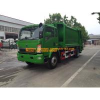 China 4x2 6001 - 10000L Special Purpose Truck / Diesel Fuel Type Waste Collection Truck on sale