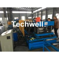 Automatic PLC Control Cable Tray Roll Forming Machine With Servo Guiding Device Manufactures