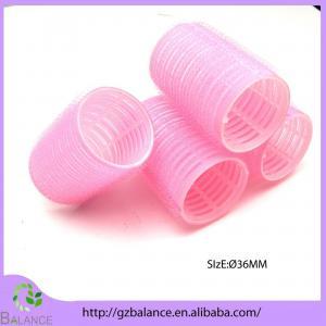 Nylon Velcro plastic hair roller Manufactures