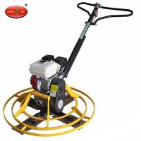China HONDA engine hand push power trowel/Concrete Finishing Trowel Machine on sale