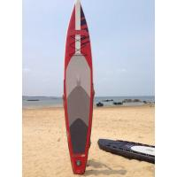 Buy cheap Stand Up Inflatable Standup Paddleboard 3.8meter Length 15cm Width Red Airmat from wholesalers