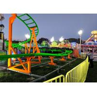 12 Seats 380V Kiddie Roller Coaster With Ethnic Characteristics Decoration Manufactures