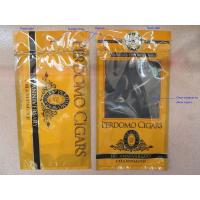 Humidified Cigar Pouches For Panatella / Perdomo Cigars / Cigars Packaging Wraps Manufactures