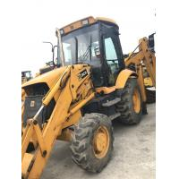 JCB 3CX Second Hand Wheel Loaders 4 In 1 Bucket With Fold Over Forks Manufactures