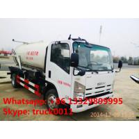 ISUZU vacuum truck for sale, ISUZU sewage suction truck for sale, sludge tank truck Manufactures