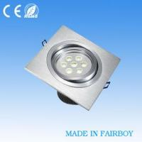 7W Recessed LED Downlight / LED Down Spotlamp Manufactures