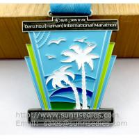 Professional metal medal maker in China, enameled metal medals and medallions making Manufactures