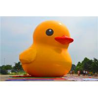 Quality Customized Giant  Inflatable Yellow Duck Inflatable Dark For Advertising / Outside for sale