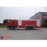 Foam Loading 4000kg Tanker Fire Truck , Fire Fighting Vehicles Max Torque 2100N.M Manufactures