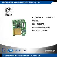 High Quality Auto Ignition Module for GM 12594176 DENSO 099700-0940 ACDELCO D596A Manufactures