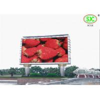 Buy cheap High Definition giant Outdoor Led Billboards for exhibition / sporting events from wholesalers