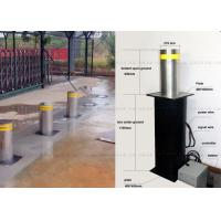 Automatic Fold Down Hydraulic Bollards Electric Retractable Security Bollards Manufactures