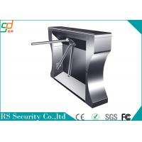 Durable 304 Stainless Steel Turnstile Gate Systems Security Access Control Manufactures