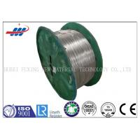 High Tensile Galvanized Steel Wire Thick Zinc Coating For Flexible Duct And Pipe Manufactures