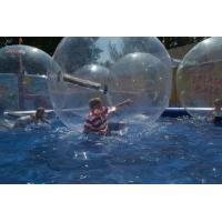 PVC Water Bounce Inflatable Human Water Walking Ball , Walking On Water Bubble Ball Manufactures