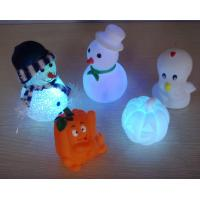 Led Pumpkin Lantern , Holiday Decoration LED Toy Flashing Balls For Babies Manufactures