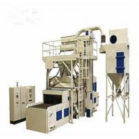 Forging Cleaning Abrasive Blasting Machine , Blast Cleaning Equipment Wire Mesh Type Manufactures