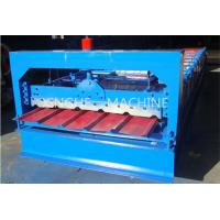 Quality Sheet Metal Glazed Tile Roll Forming MachineWith 4 Tons High Capacity for sale