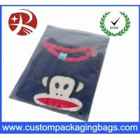 0.2Mm Thickness Clear Handle Pvc Hook Bag Bed Packing With Plastic Zipper Manufactures