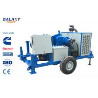 ISO Blue Color Underground Cable Pulling Machine 49.2hp 100kN Hydraulic Puller Manufactures