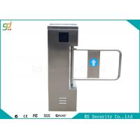 Quality High Security Stainless Steel  Swing Barrier Gate  IR Sensor Remote Control for sale