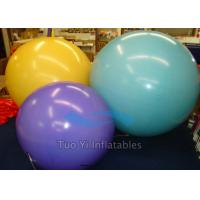 Quality Celebration 2m , 2.5m , 3m Printed Helium Balloons Lead Free Fire Resistant for sale