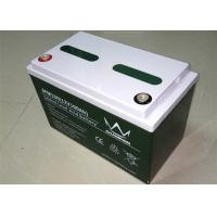 Professional Sealed 100 Ah 48V / 12V Lead Acid Battery For Inverter / UPS 6FM100 Manufactures