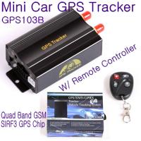 GPS103B Remote Control Car Vehicle Truck GPS Tracker Real Time GPS Tracking Locator System W/ Cut-off oil & power by SMS Manufactures
