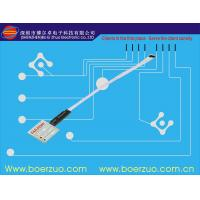 LED 3M Adhesive Membrane Switch Clear Large transparent LCD window Manufactures