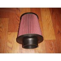 Racing Auto Air Filters Upper And Lower With Rubber Cover / k And n Air Intake Filter Manufactures